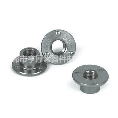 永年厂家自产自销六角焊接螺母 GB13681点焊螺帽