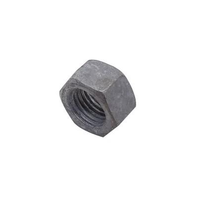 永年厂家渗锌螺母国标加厚外六角螺丝帽高强度本色加大