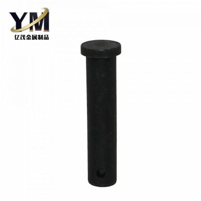 永年厂家平头高强度销轴氧化发黑打孔平头销轴现货供应