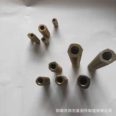 永年厂家螺纹钢套筒本色/镀彩 pc预埋件