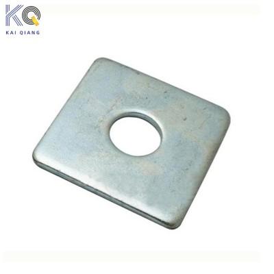 永年厂家镀白锌碳钢方形垫片