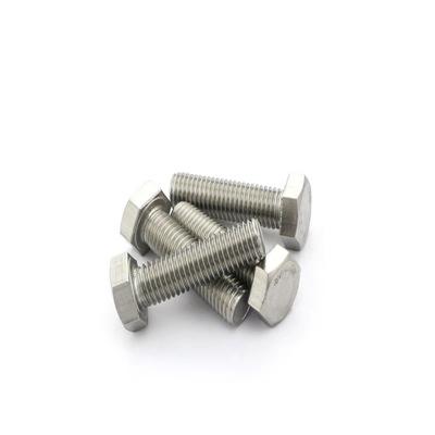 永年厂家304不锈钢外六角螺丝全牙外六角螺钉不锈钢螺栓螺柱