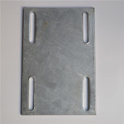 永年厂家冷热镀锌钢板 幕墙预埋件