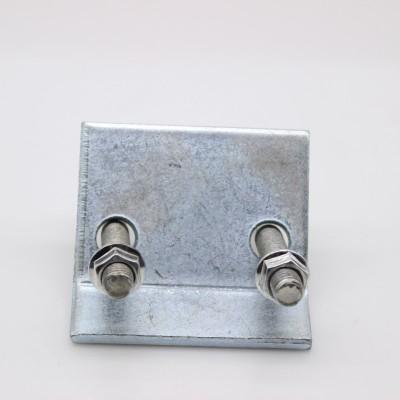 永年厂家工字钢梁夹U型钢梁夹 连接压板 抗震配