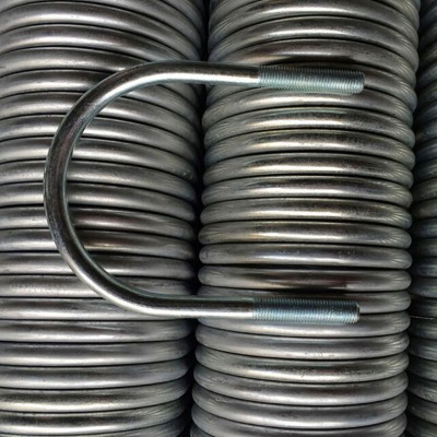 永年厂家U型螺栓国标碳钢4.8级镀锌U型螺丝