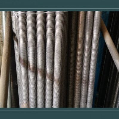 永年厂家批发 丝杠1米-3米蓝白锌丝杆 吊顶通丝吊杆